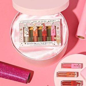 7折到手,仅€17.99Too Faced 光泽唇釉套装 打造让人心动的水晶嘟嘟唇