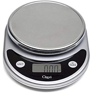 Amazon.com: Ozeri ZK14-S Pronto Digital Multifunction Kitchen and Food Scale, Elegant Black: Home & Kitchen