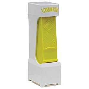 Amazon.com | Butter Cutter One Click Stick One Click Stick Butter Cutter (Yellow): Butter Dishes