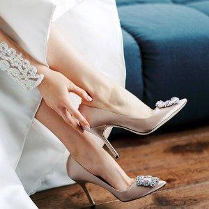 至高减$200 变相7.5折收钻扣Manolo Blahnik 女鞋热卖 小仙女必备
