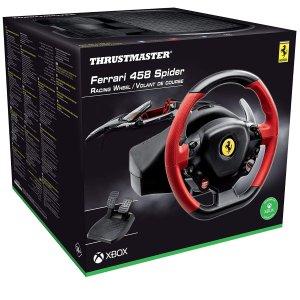 6折起Thrustmaster 游戏控制器 收赛车方向盘