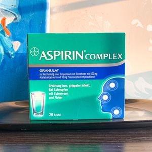 €10.29收20包装(原价€15.29)ASPIRIN 阿司匹林 缓解感冒鼻塞、头痛发热 德国家庭常备药