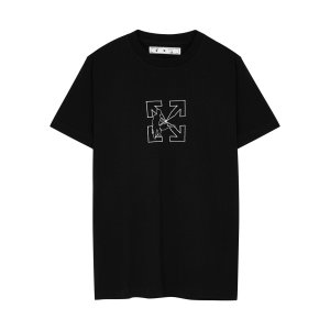 Off-White新款箭头T恤