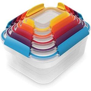 Joseph Joseph保鲜盒 5件套 彩色