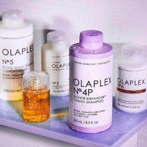 """全场5.3折起Olaplex 发型师推荐 漂染护理一级棒 适合酷爱""""折腾""""头发的你"""