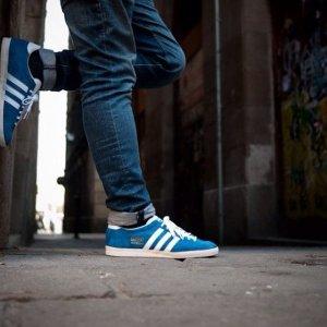 低至7折 £48收薄荷绿Adidas Gazelle 经典麂皮三道杠热促