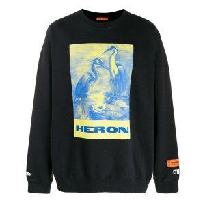 Heron Preston仙鹤卫衣