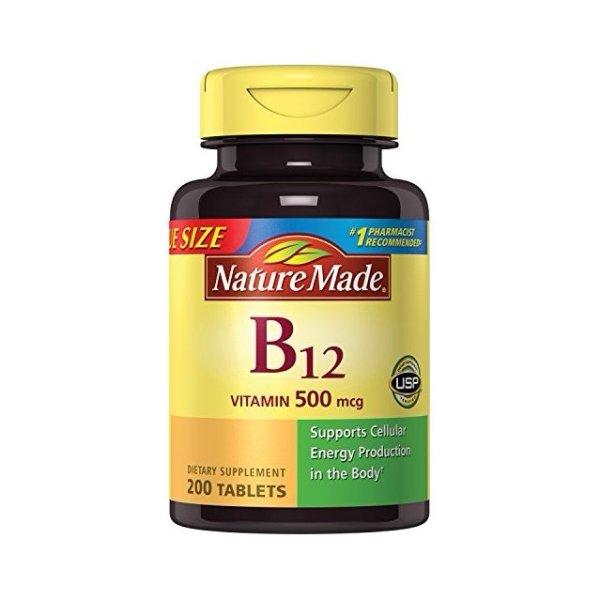 维生素 B12 200粒