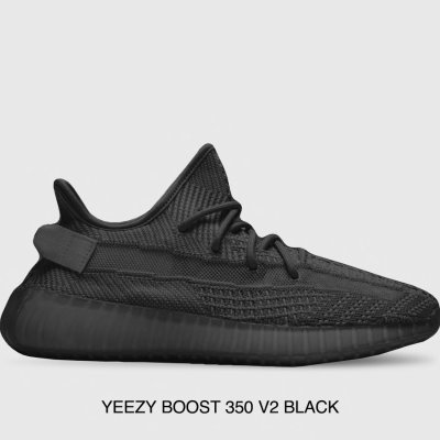 49f21c699819d YEEZY BOOST 350 V2 BLACK @ Luisaviaroma Limit time offer - Dealmoon