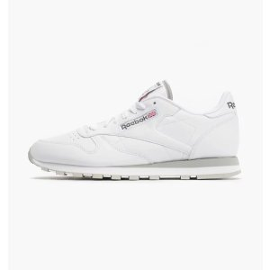 ReebokClassic Leather 白色运动鞋