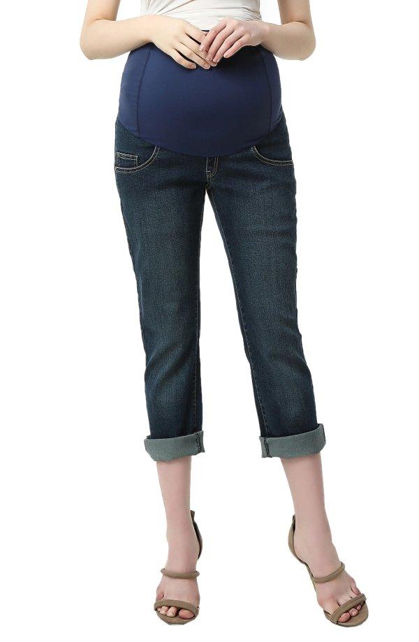 孕妈妈牛仔裤