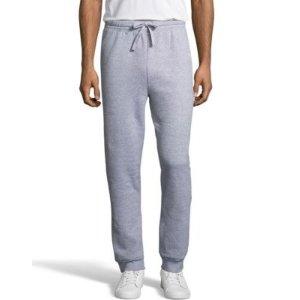 HanesMen's EcoSmart Fleece Jogger Sweatpant with Pockets