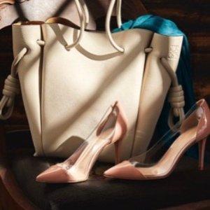 低至5.5折 $300+收经典花边芭蕾鞋Rue La La 精选 Loewe、Chloe、Fendi 等大牌美包鞋热卖