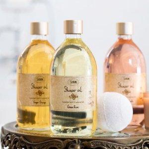 低至5.6折即将截止:Sabon 精选沐浴油热卖 收断货王玫瑰茶、芒果奇异果