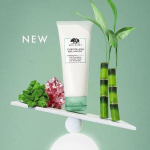 仅$25+送15ml清洁面膜 get滑嫩肌肤的秘密!上新:Origins 竹炭薄荷天然磨砂膏开售 温和去角质、缩小毛孔