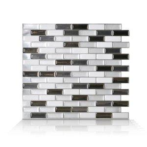Smart Tiles 墙壁装饰贴,10.20 in. W x 9.10 in. H