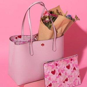 全部7.5折 托特包仅£146最后一天:Kate Spade 情人节大促 限定小爱心包包首次有折!
