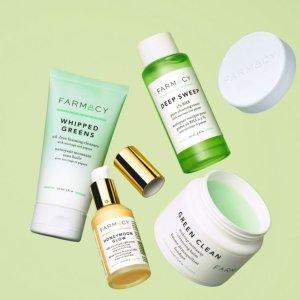 无门槛7折Farmacy官网 精选护肤热卖 收薄荷卸妆膏、蜂蜜面膜