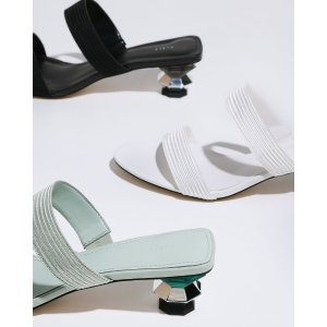 Pedro ShoesGeometric Heeled Sandals
