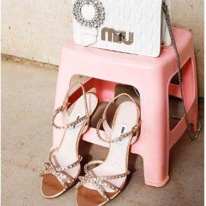 低至6折  珍珠凉鞋美出天际Miu Miu 美鞋美包美衣新款热卖