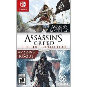 $19.99(原价$39.99)《刺客信条 黑旗+叛变》Nintendo Switch 数字版