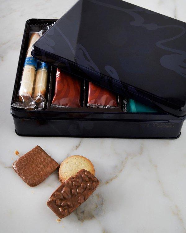 冬日款饼干礼盒