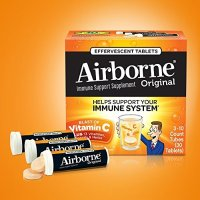 Airborne 维C泡腾片 香橙味 30片
