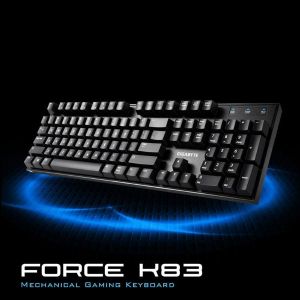 $59.70Gigabyte GK-FORCE K83 Cherry MX红轴 机械键盘