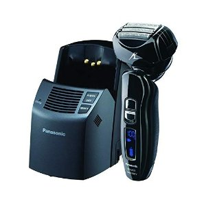 PanasonicES-LA93-K, Arc4 Electric Razor, Men's 4-Blade with Multi-Flex Pivoting Head and Dual Motor, Premium Automatic Clean & Charge Station Included, Wet or Dry Operation