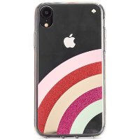 Kate Spade New York Glitter Rainbow iPhone XS Case