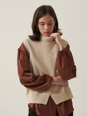 Crepe Vest | W Concept