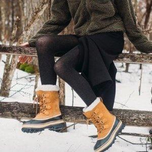 4折起+ 额外8折Sorel 官网春季特卖  反季收超值冬靴  波浪运动鞋$56