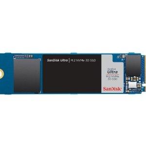 $89.99 SN550换皮比黑五低:SanDisk Ultra 1TB PCIe3.0 x4 NVMe 固态硬盘