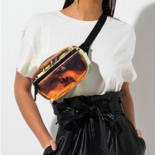 降价!超值价¥182Adidas Originals Iridescent  镭射腰包
