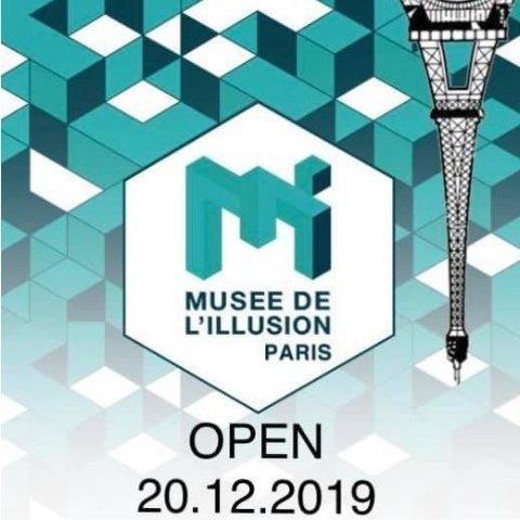 12月20日起开放 官网订票€12起火爆全球的幻觉博物馆开到了巴黎 你还没去体验吗