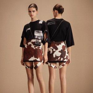 低至5折 OW、Ambush T恤$100+NAP 女士大牌T恤热卖 $175收Burberry小鹿背心