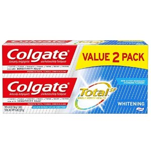 Colgate Total Whitening Toothpaste  4.8 ounce (2 Pack)