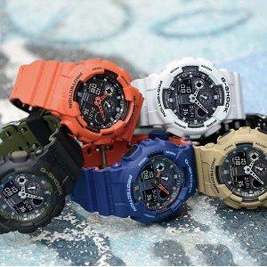 多色低至¥448Casio G-Shock 热门系列GA-100 腕表限时热卖