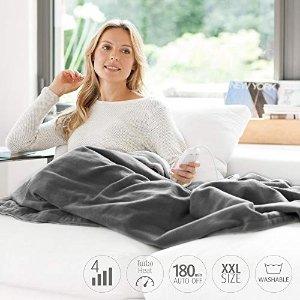 7.7折,4级调温,可水洗电热毯 200 x 150 cm