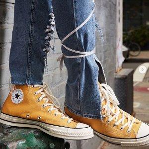 低至3折+额外9折折扣升级:Converse 经典帆布鞋热卖 Chuck70、Allstar全都有