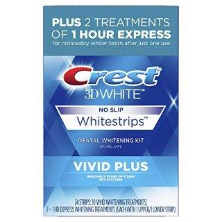 $26.34 包邮Crest 3D 美白牙贴 Vivid 款10套+快速美白牙贴1套