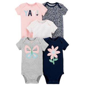 额外8折+额外8折起+送礼券即将截止:Carters 婴童服饰等产品热卖 包臀衫低至$1.66/件