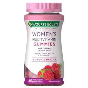 Nature's Bounty Optimal Solutions,Energy Suppoprt,80 Gummies
