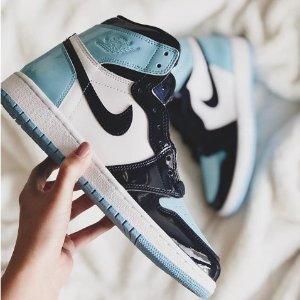 """$160+包邮新品预告:Nike 即将发售Air Jordan 1 """"冰蓝寒意""""女子运动鞋"""