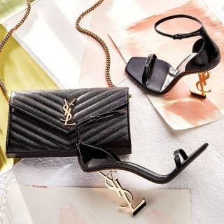 低至6折Century 21 精选 YSL 美包美鞋配饰特卖 信封包、流苏款都参加