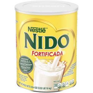 $11.93+包邮 做糕点必备干货补货:NESTLE NIDO 雀巢全脂罐装奶粉 3.52磅装