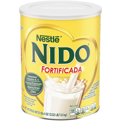 $14.3 + Free ShippingNESTLE NIDO Fortificada Dry Milk 56.4 Ounce Canister