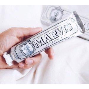 满£45享85折,满£55享8折Marvis 牙膏中的爱马仕热卖中