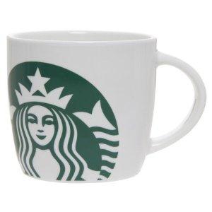 Starbucks14 Ounce Ceramic White Mug