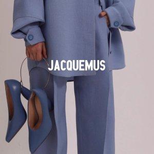 4折起 迷你手拿包€176Jacquemus 大促 超值收潮人最爱的美衣、美包 刺绣连衣裙€276